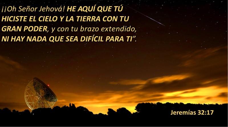 Jeremías 32.17