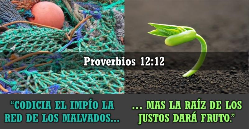 Proverbios 12.12