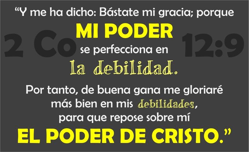 2 Corintios 12.9