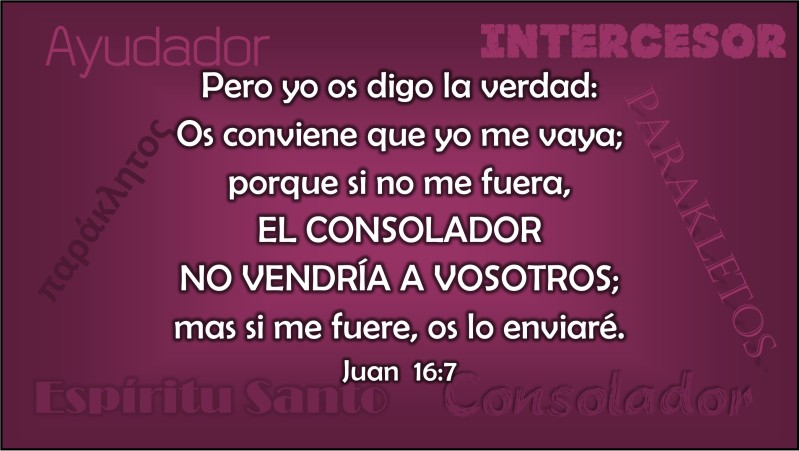 Juan 16.7