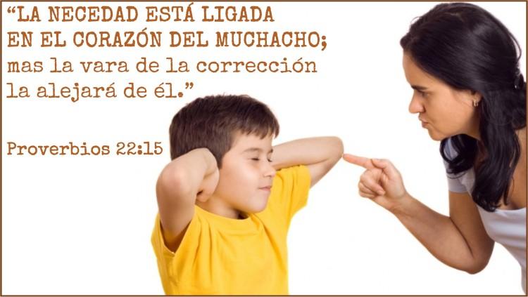Proverbios 22.15