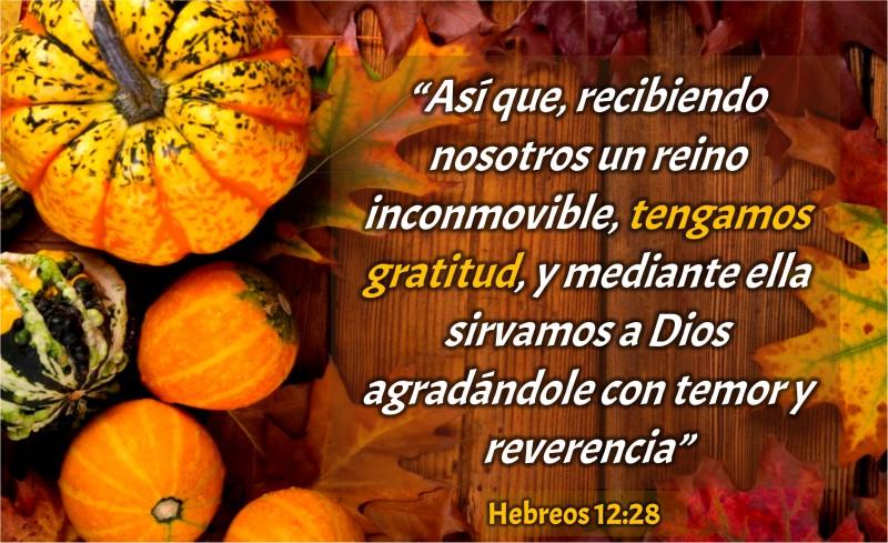 Hebreos 12.28