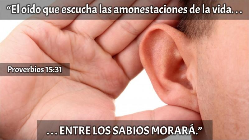 Proverbios 15.31