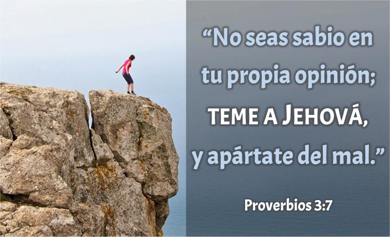 Proverbios 3.7