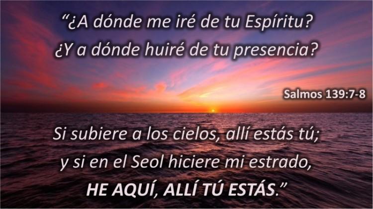 Salmos 139.7-8