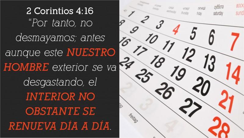 2 Corintios 4.16
