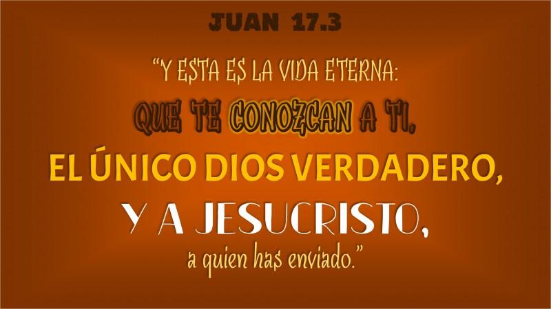 Juan 17.3