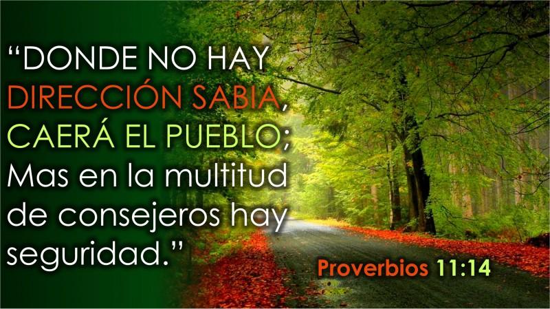 Proverbios 11.14