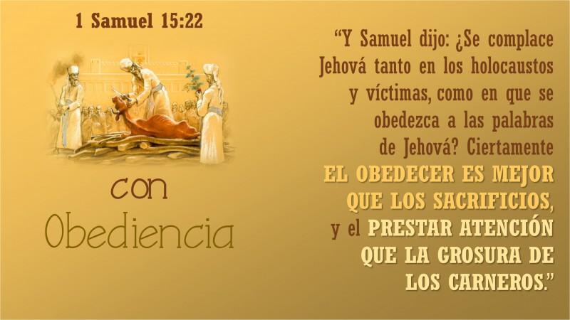 1 Samuel 15.22