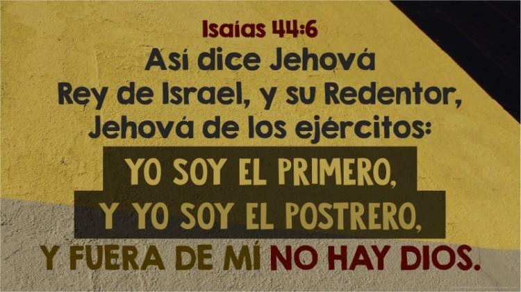 Isaías 44.6