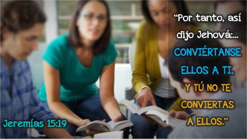 Jeremías 15.19