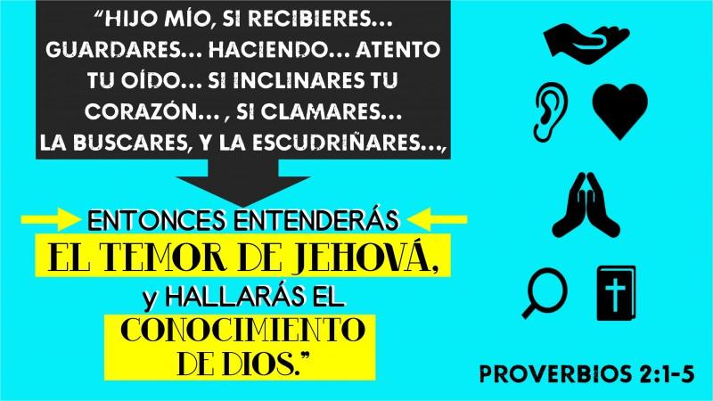 Proverbios 2.1-5