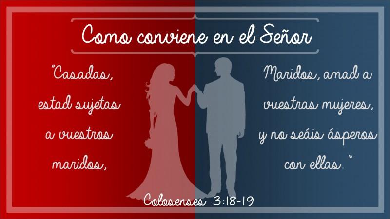 Colosenses 3.18-19