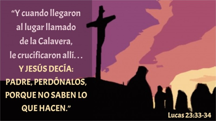 Lucas 23.33-34