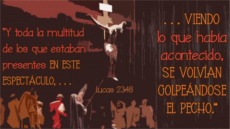 Lucas 23.48