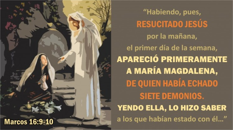 Marcos 16.9-10