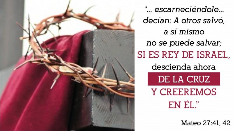 Mateo 27.41-42