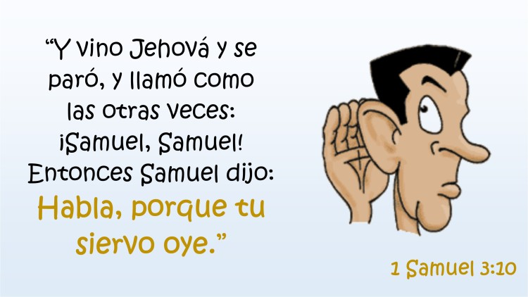 1 Samuel 3.10