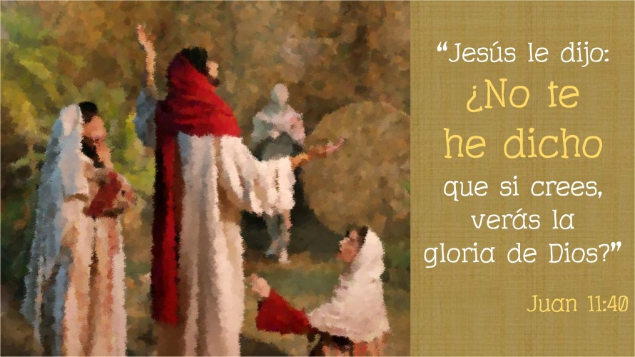 Juan 11.40