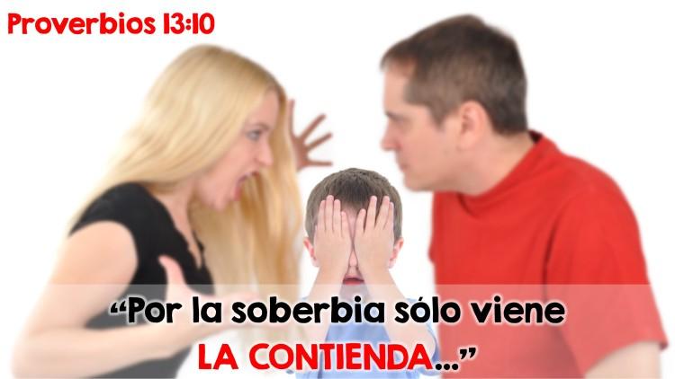 Proverbios 13.10