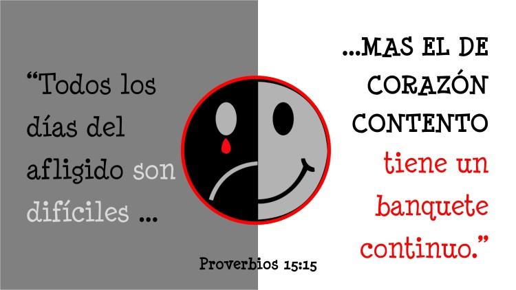 Proverbios 15.15