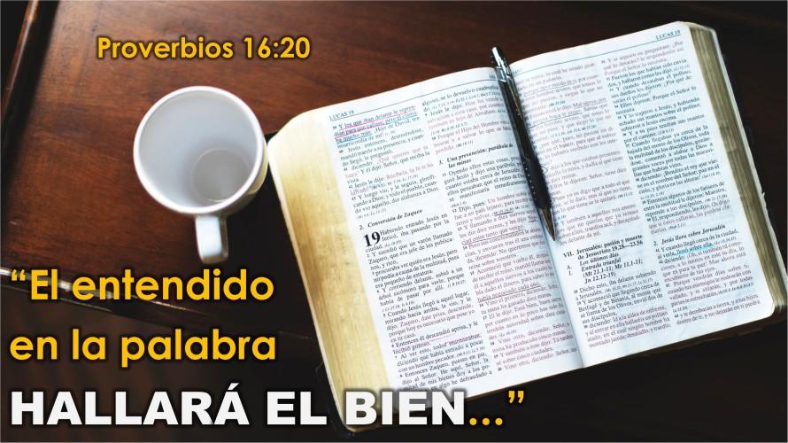 Proverbios 16.20
