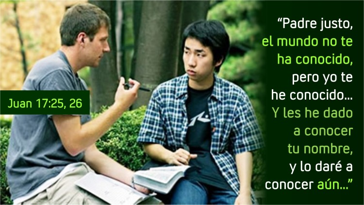 Juan 17.25-26