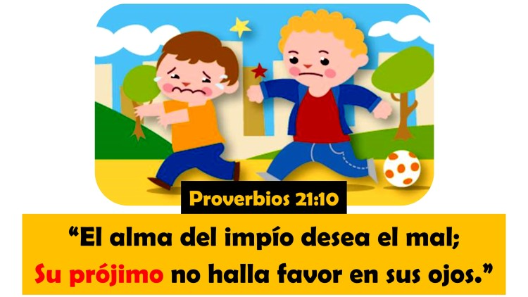 Proverbios 21.10
