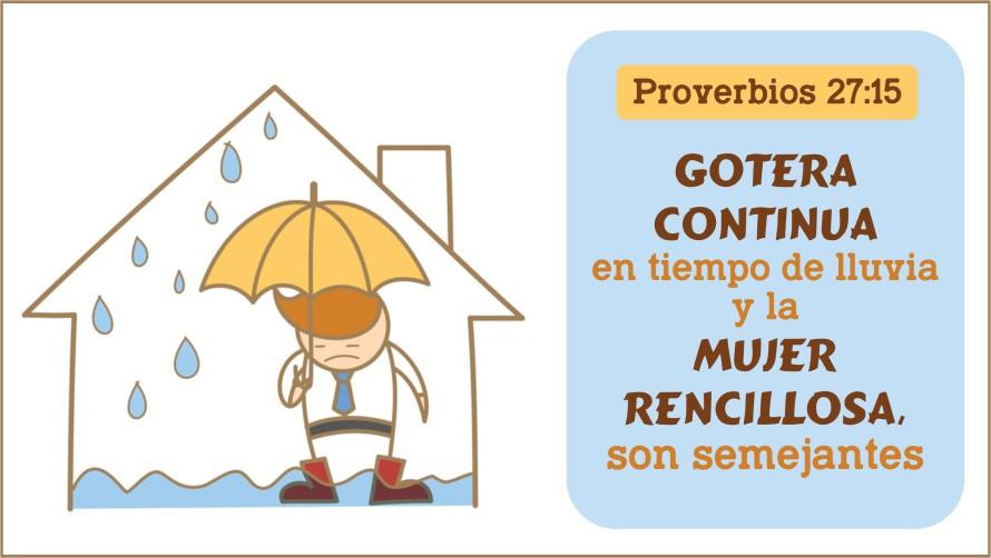 Proverbios 27.15