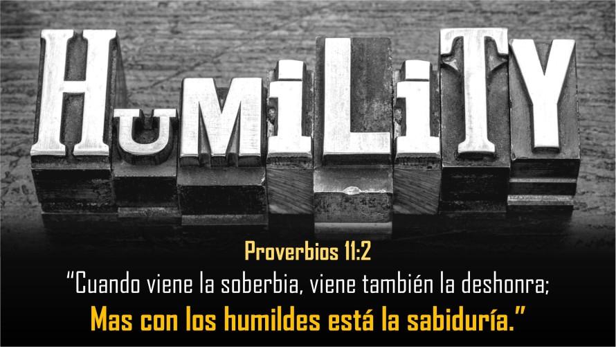 Proverbios 11.2