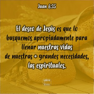 Juan 6.35 Color