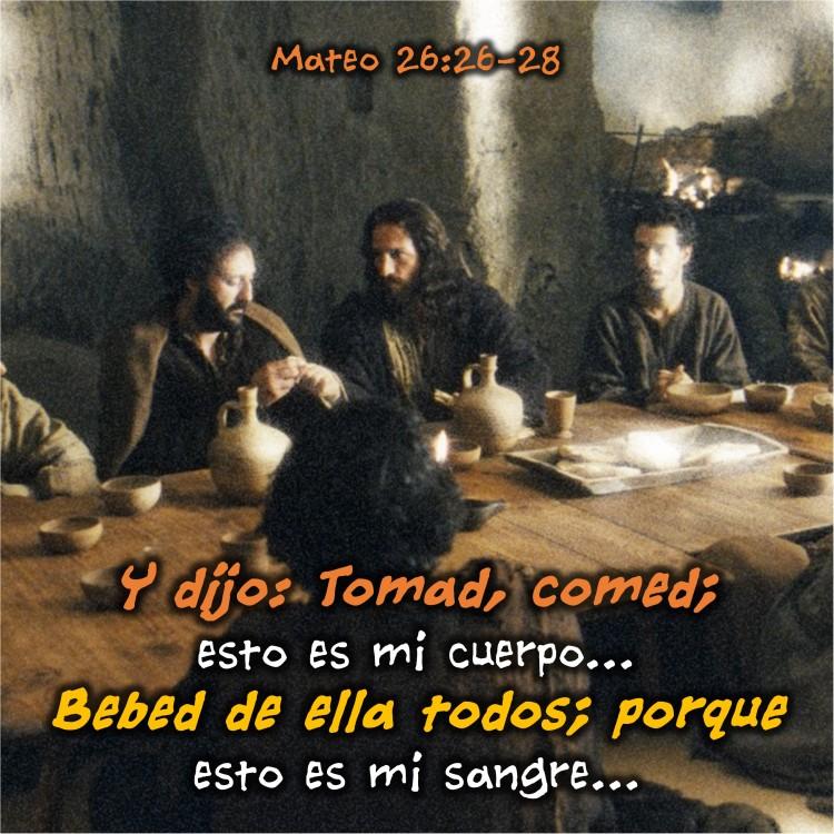Mateo 26.26-28 Anexo