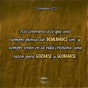 2 Corintios 12.5 Color