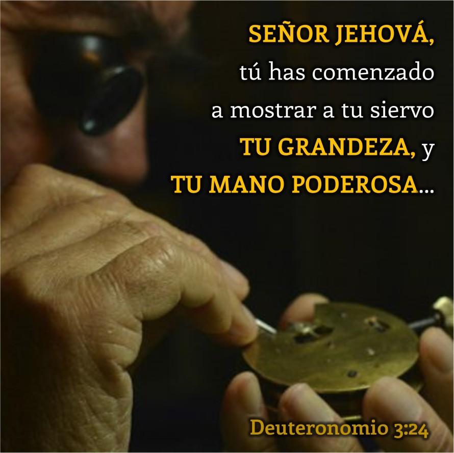 Deuteronomio 3.24 Anexo