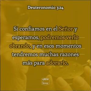 Deuteronomio 3.24 Color