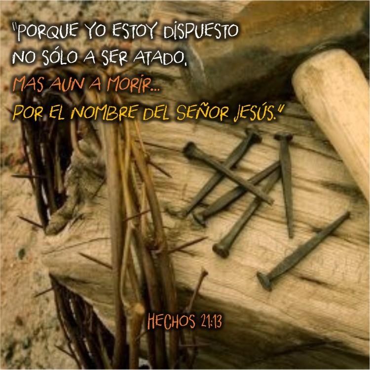 Hechos 21.13 Anexo