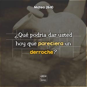 Mateo 26.10 Color