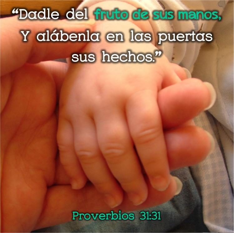 Proverbios 31.31 Anexo