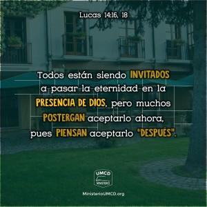 Lucas 14.16, 18 Color
