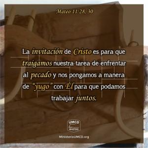 Mateo 11.28, 30 Color