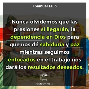 1 Samuel 13.13 Color