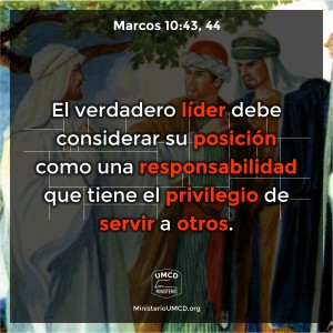 Marcos 10.43, 44 Color