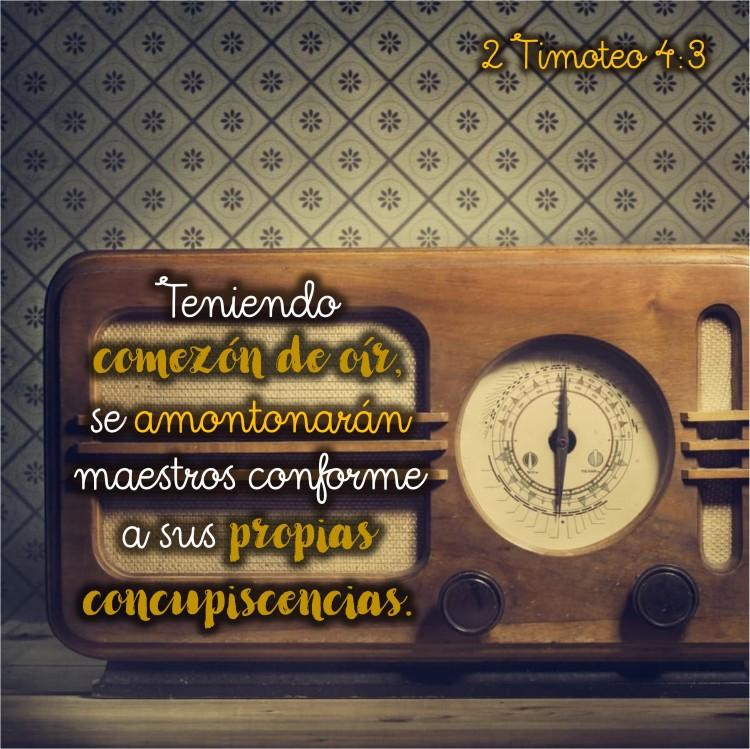 2 Timoteo 4.3 Anexo