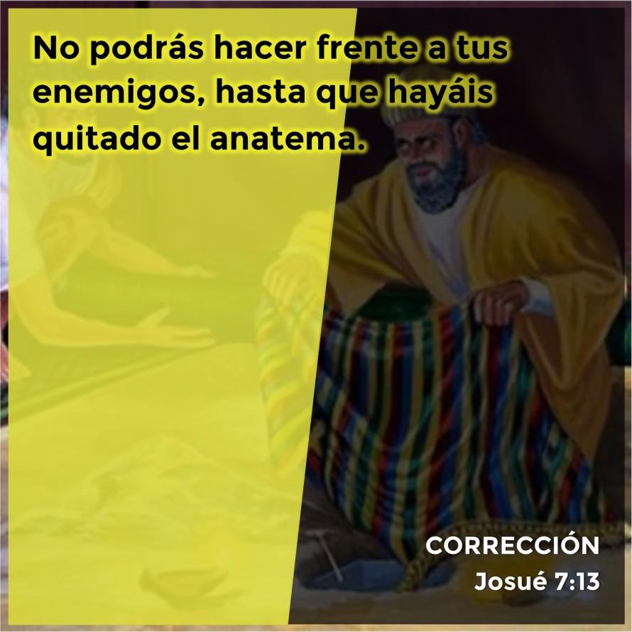 Josué 7.13 Anexo