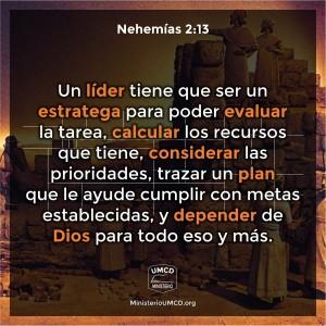 Nehemías 2.13 Color