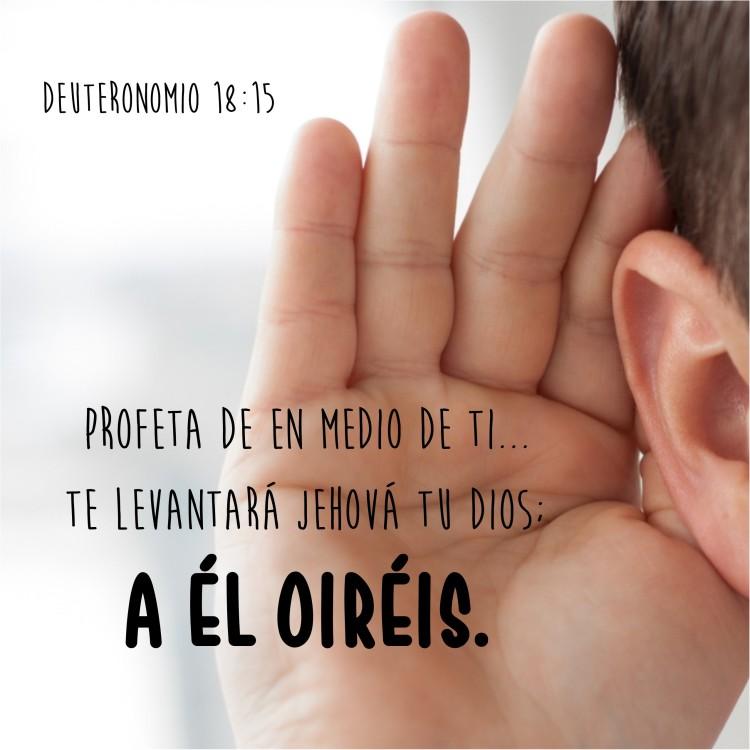 Deuteronomio 18.15 Anexo