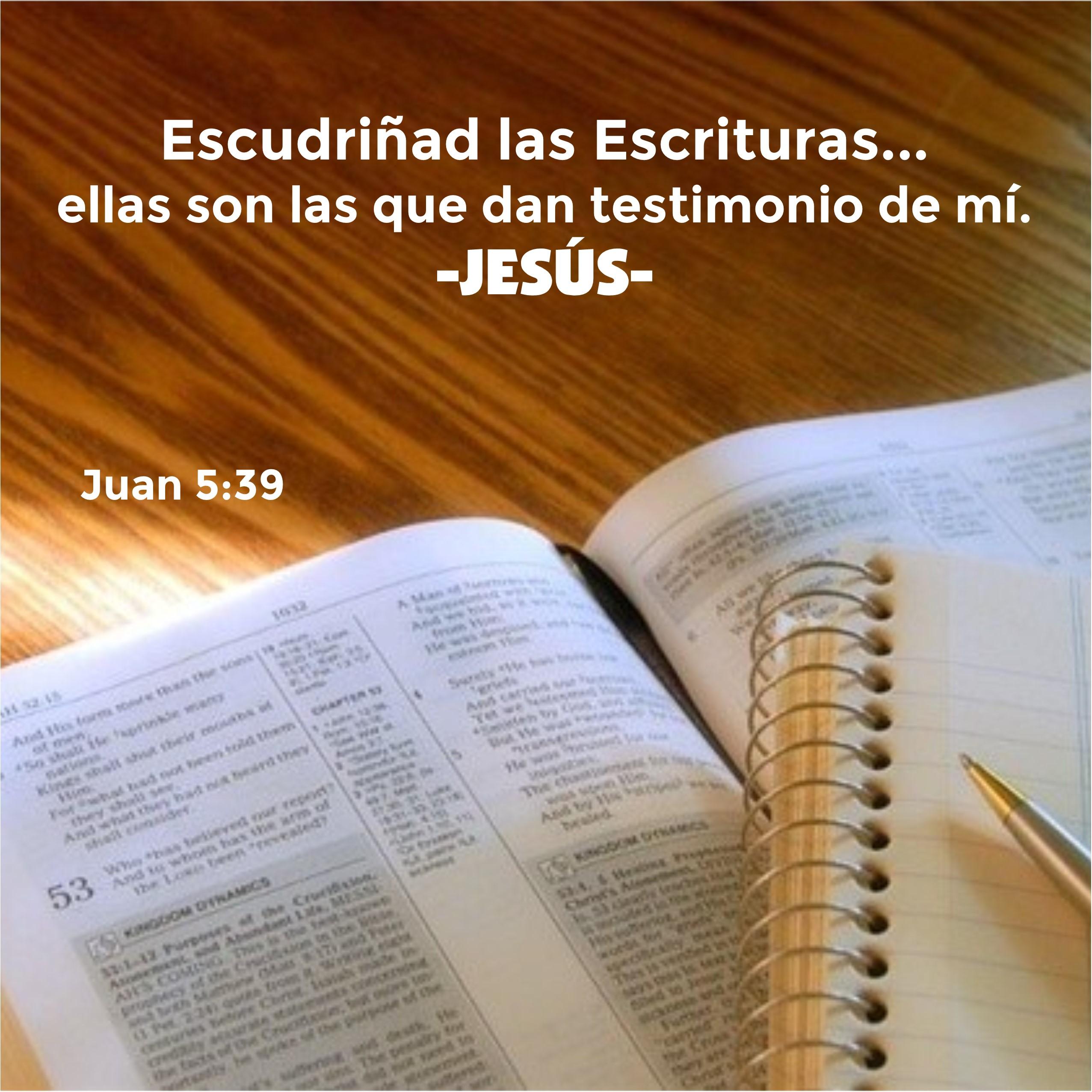 Juan 5.39 Anexo