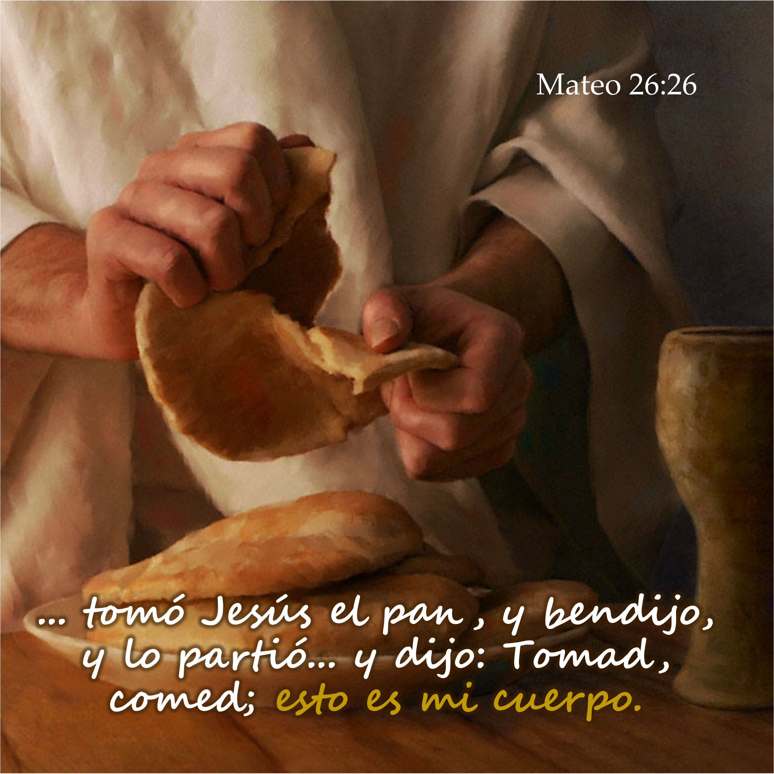 Mateo 26.26 Anexo