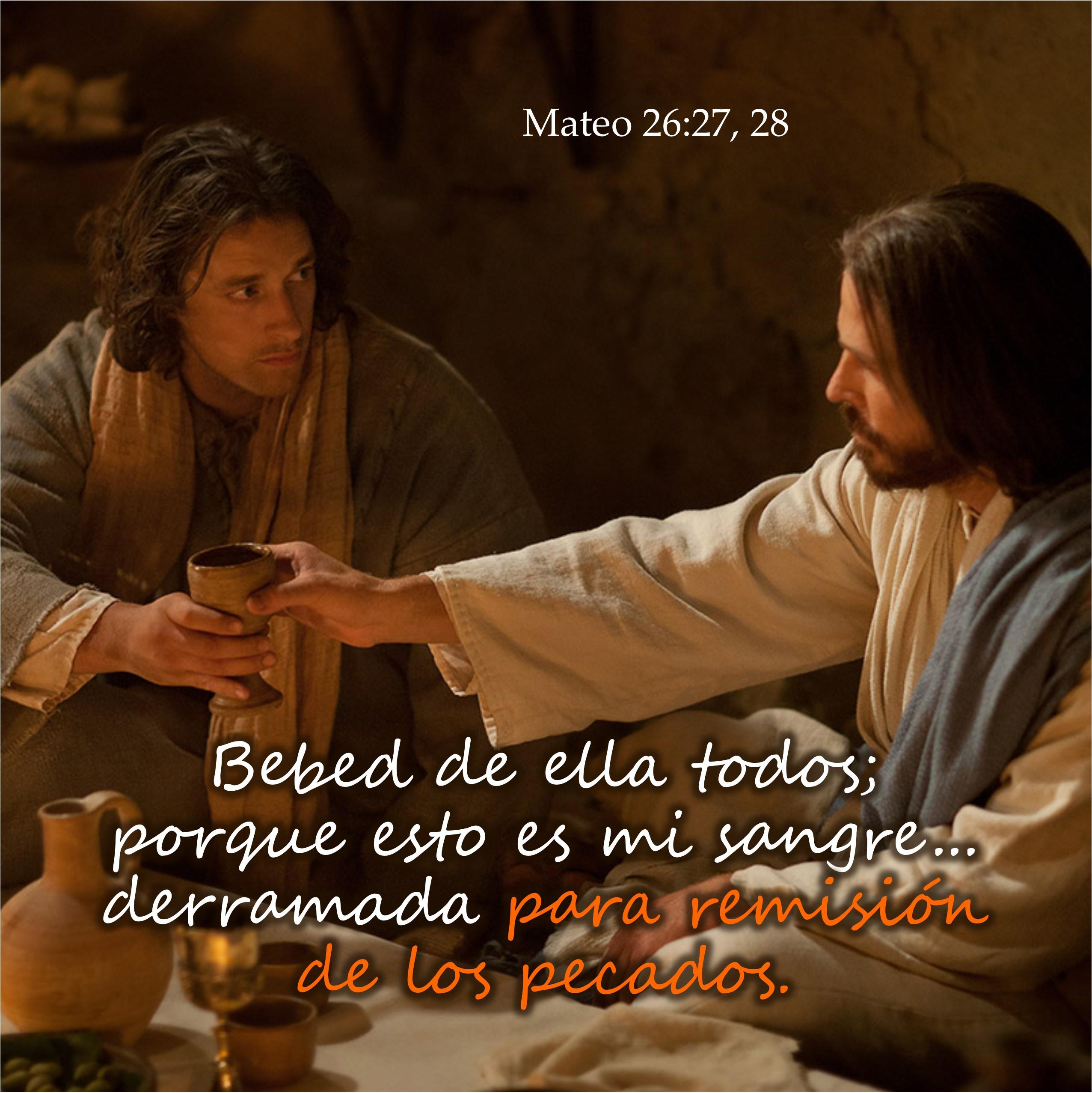 Mateo 26.27, 28 Anexo