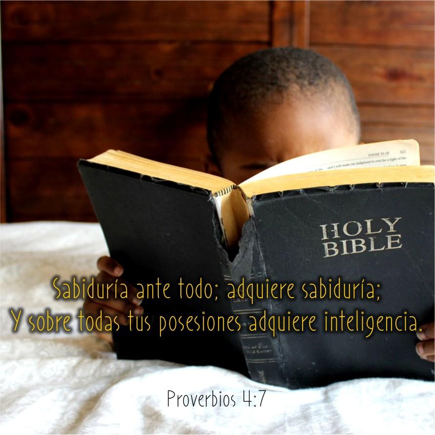 Proverbios 4.7 Anexo